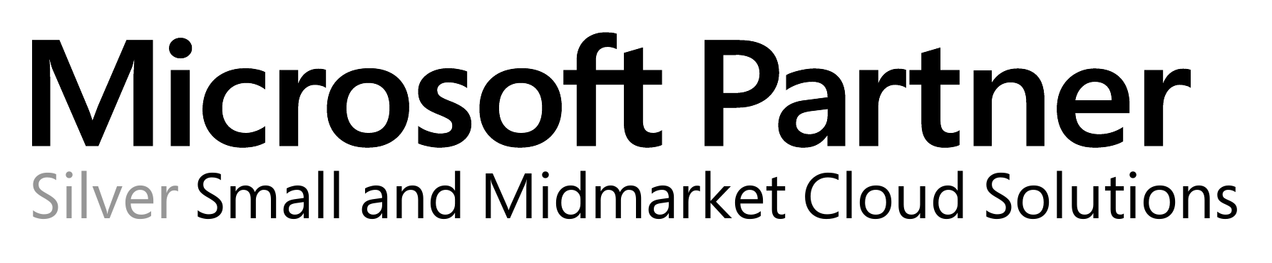 Microsoft Partner - Silver Small and Midmarket Cloud Solutions Competency